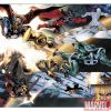 Image Featuring Gladiator (Kallark), Nova, Silver Surfer, Ronan the Accuser, Quasar (Wendell Vaughn)