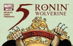 5 Ronin #1 cover by John Cassaday