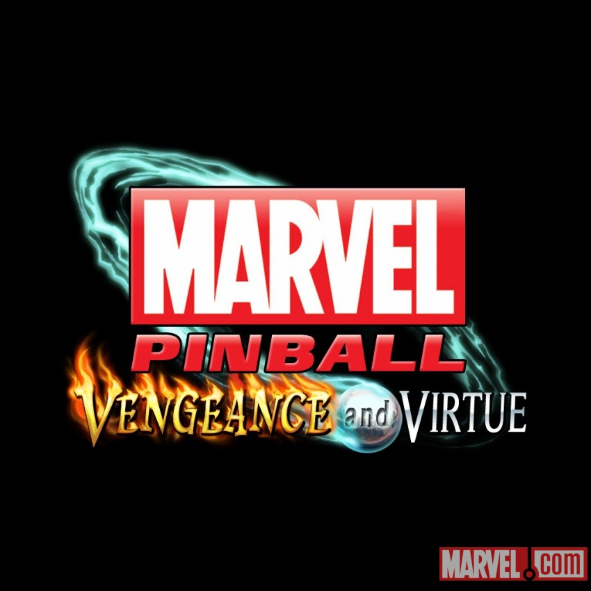 Marvel Pinball: Vengeance and Virtue logo