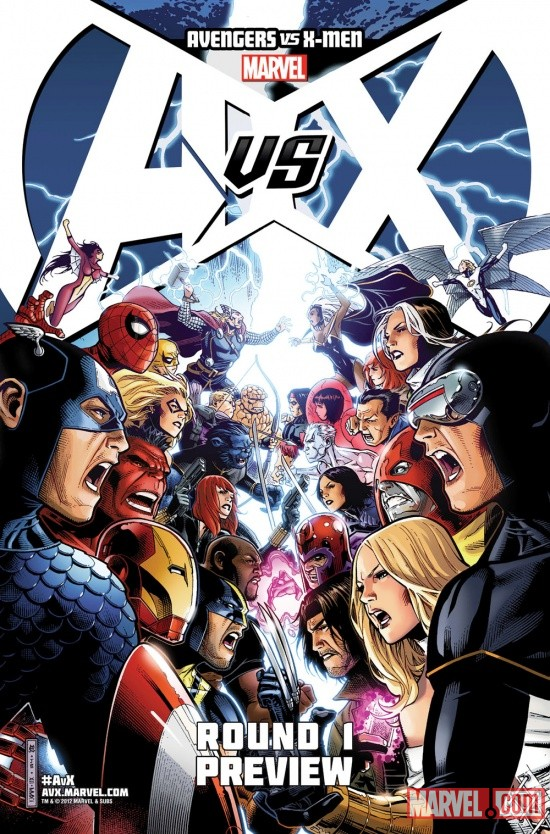 Avengers Vs. X-Men by Jim Cheung