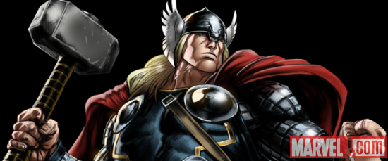 Thor from Marvel: Avengers Alliance
