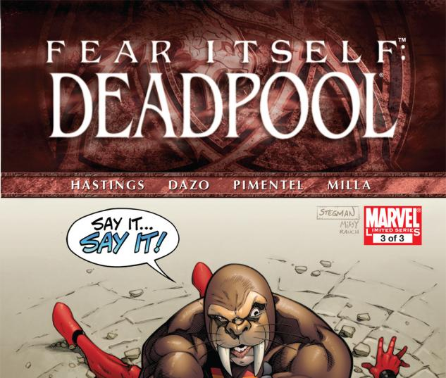 Fear Itself: Deadpool (2011) #3