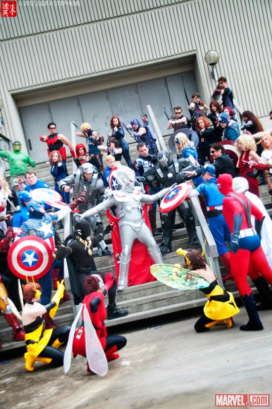 Dragon*Con 2012: Marvel Universe Costume Gathering