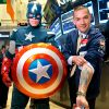 Ring the NYSE Opening Bell with Captain America & Kiehl's
