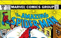 Amazing Spider-Man (1963) #212 Cover