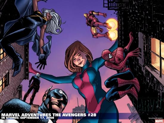 Marvel Adventures the Avengers (2006) #28 Wallpaper
