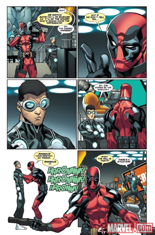 DEADPOOL #24 preview art by Carlo Barberi