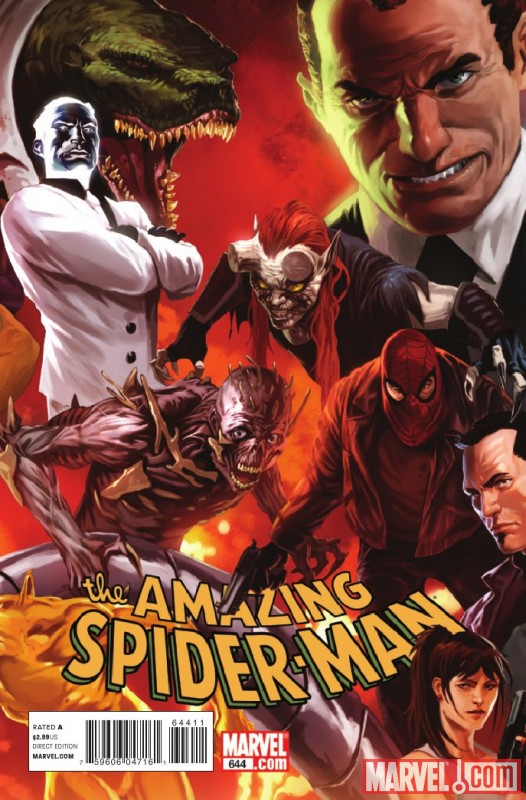 Image Featuring Norman Osborn, Lizard