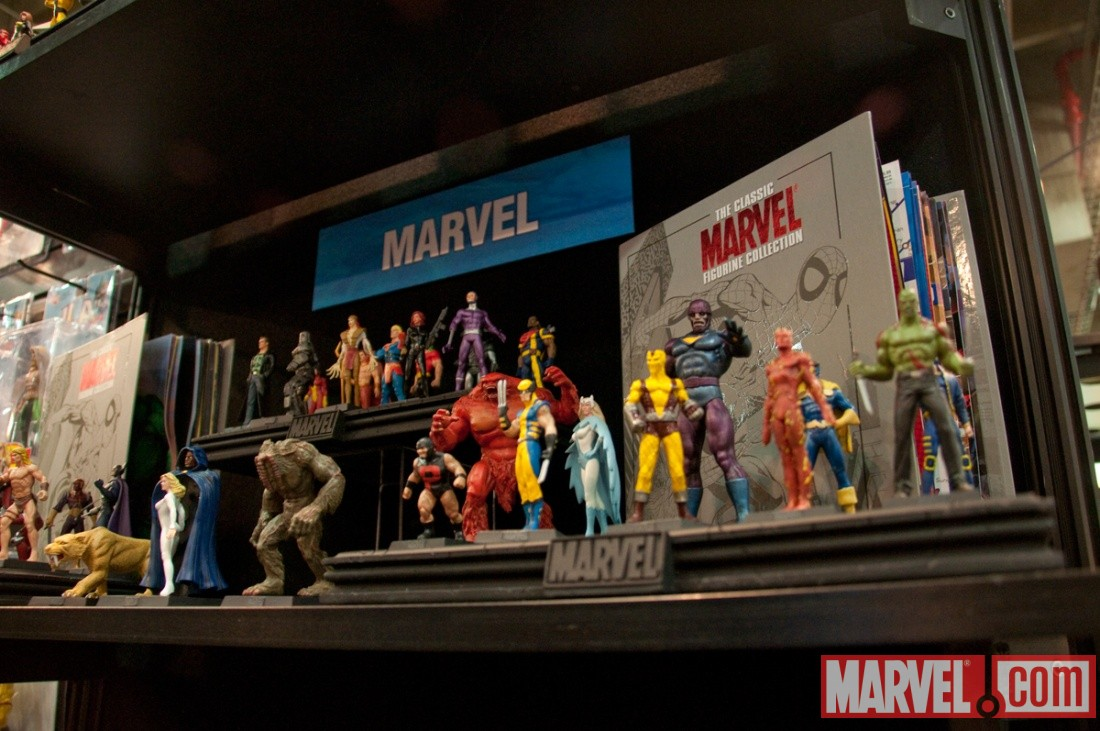 ... Eaglemoss Publications Classic Marvel Figurine Collection at Toy Fair