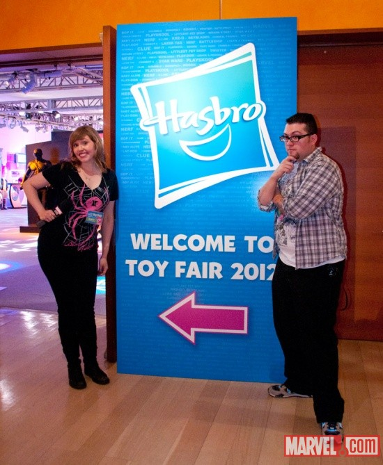 Hasbro at Toy Fair 2012 with Lorraine and Ryan