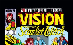 Vision and the Scarlet Witch (1985) #6 Cover