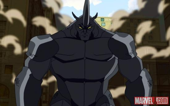 The Rhino makes his presence known in Ultimate Spider-Man