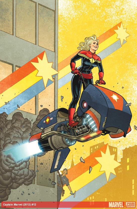 Captain Marvel (2012) #12 Cover