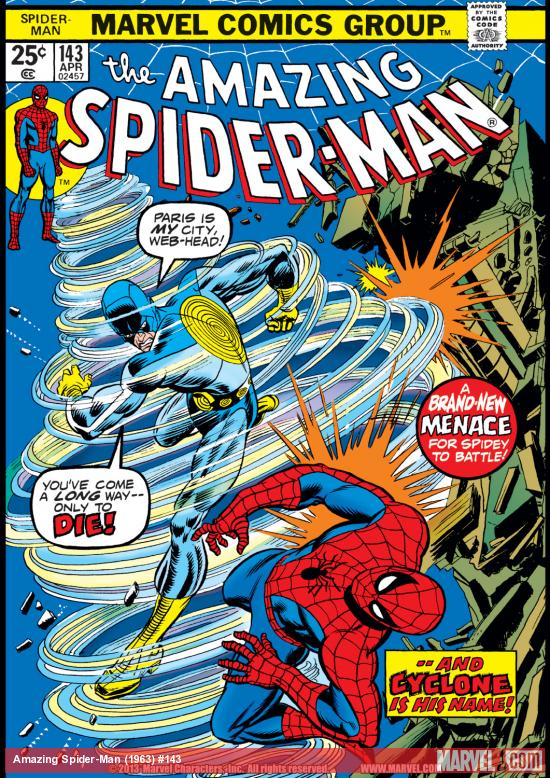 Amazing Spider-Man (1963) #143 Cover