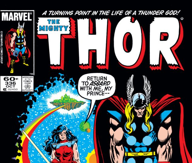 Thor (1966) #336 Cover