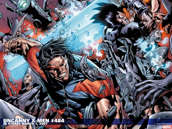 Uncanny X-Men (1963) #484 Wallpaper