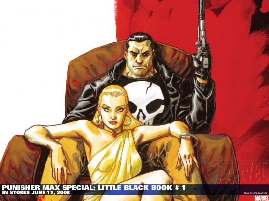 Punisher Max Special: Little Black Book (2008) #1 Wallpaper