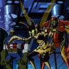 Screenshot of the Gamma-irradiate Avengers from The Avengers: Earth's Mightiest Heroes!