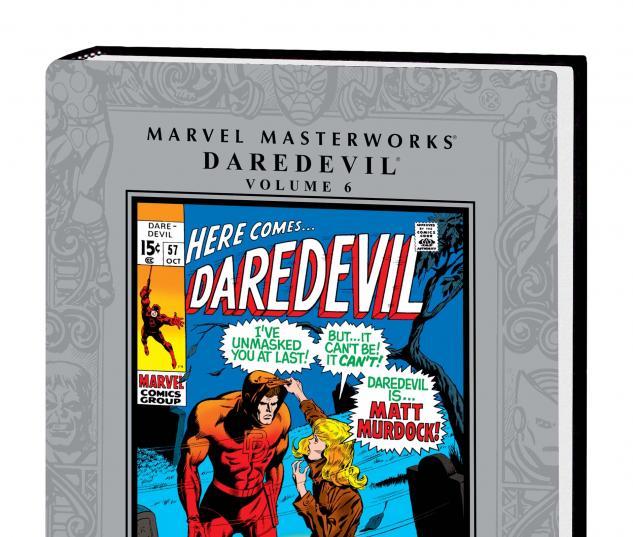MARVEL MASTERWORKS: DAREDEVIL VOL. 6 HC cover