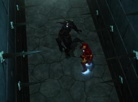 Screenshot of Iron Man and Mandarin from Season 2, Ep. 20