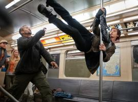 Andrew Garfield as Peter Parker/Spider-Man in The Amazing Spider-Man