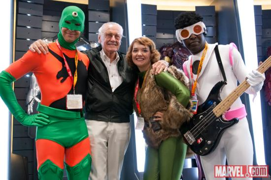 SDCC 2012: All Winners Squad