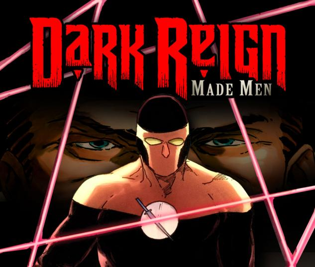 Dark Reign: Made Men (2009) #1 Cover