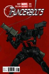 Thunderbolts #5  (Tan Variant)
