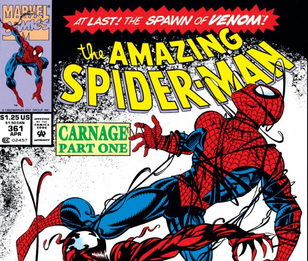 Amazing Spider-Man (1963) #361 Cover