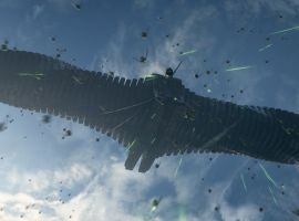 The Action Takes Flight in Marvel's Guardians of the Galaxy
