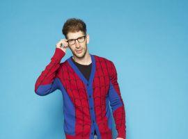 Spider-Man Knit Cardigan from WeLoveFine