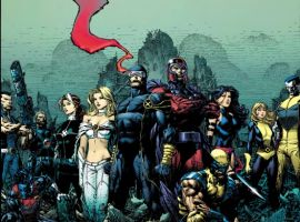 Image Featuring Magneto, Nightcrawler, Psylocke, Rogue, Wolverine, X-Men, Cable, Sub-Mariner, Colossus, Hope Summers, Cyclops, Emma Frost