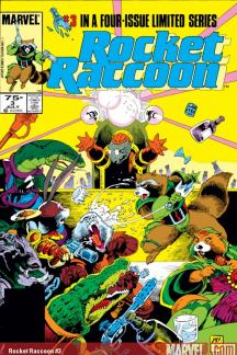 Rocket Raccoon (1985) #3
