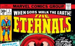 ETERNALS #5 COVER