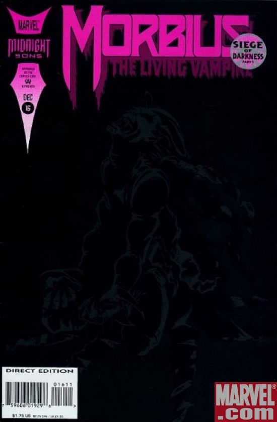 MORBIUS, THE LIVING VAMPIRE #16