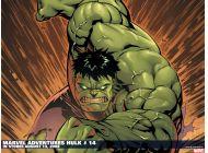 Marvel Adventures Hulk (2007) #14 Wallpaper