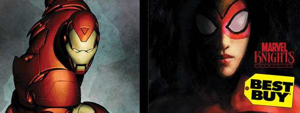 Get the Iron Man & Spider-Woman Blu-ray Coupon