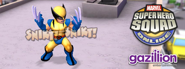 Super Hero Squad Online: Meet Wolverine