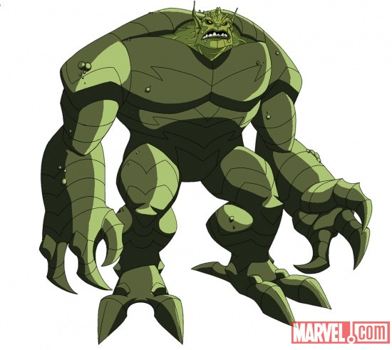 The Abomination in The Avengers: Earth's Mightiest Heroes!