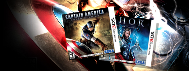 Thor & Captain America Coming to Nintendo 3DS