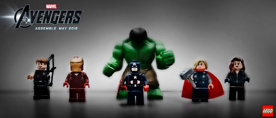 Marvel's The Avengers Minifigures from LEGO's Marvel's The Avengers collection
