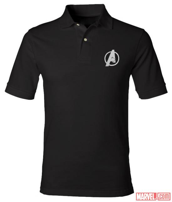 Avengers logo polo shirt from WeLoveFine
