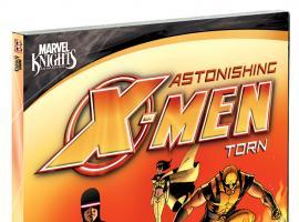 Astonishing X-Men: Torn DVD box art