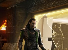 Loki breaks free in a character poster from Marvel's Thor: The Dark World