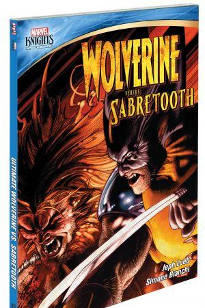 Wolverine Vs. Sabretooth DVD box art by Simone Bianchi