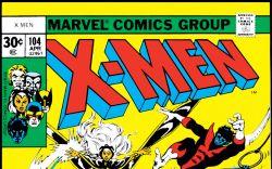 Uncanny X-Men (1963) #104 Cover