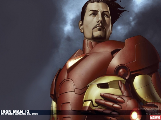 Iron Man (0000) #3 Wallpaper