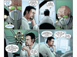 Invincible Iron Man #502 preview art by Salvador Larroca