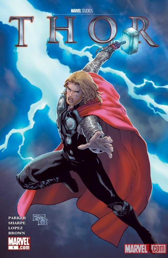 Thor: Rescue cover art by Billy Tan