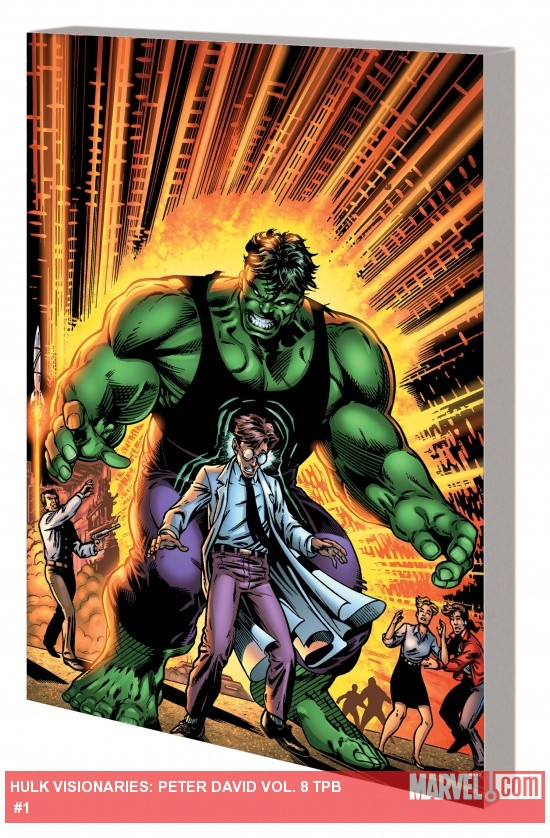 HULK VISIONARIES: PETER DAVID VOL. 8 TPB cover